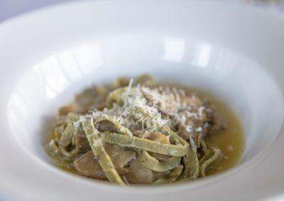 Herbed Taglierini & Local Oyster Mushrooms